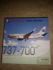 China Eastern Boeing B737-700 Better City Better Life Colors 1/400 Dragon Wings