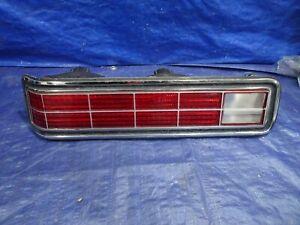 1972 Pontiac Bonneville LEFT DRIVERS  SIDE  Tail light