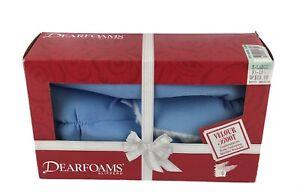 Vintage Dearfoams Slippers Women Blue Boot Style XL 9.5-10.5 Skid Resistant