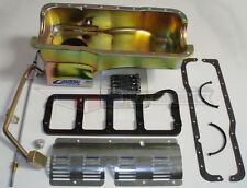 Canton Black Powdercoated 6 pcs Ford Mustang 289 302 7 Qt. Oil Pan 15-620SBLK