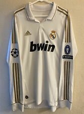Adidas Real Madrid 2011/2012 Home Long Sleeve Soccer Jersey