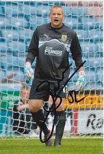 Burnley mano firmado Brian Jensen 6X4 Foto 12.