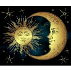 Diamond Painting Full Drill 5D Sun And Moon Kit Art Embroidery Home Decor Gifts