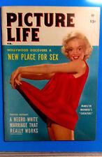 "MARILYN MONROE 'Picture Life"" magazine 1953 Near mint, UNUSED."