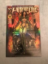 WITCHBLADE #40 RARE DYNAMIC FORCES HOLOFOIL VARIANT NO COA AWESOME LOOKING!