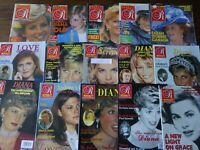 Over 150 Vintage Royalty, Majesty Magazines in 12 LOTS - Your Choice