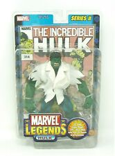 Marvel Legends Series Ii Hulk 2002 Toy Biz Action Figure w/Comic - Nib