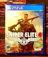 Sniper Elite 4  - PS4 - Sony PlayStation 4 - Brand New - Region Free - Sealed