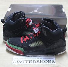 NIKE AIR JORDAN SPIZ'IKE BLACK VARSITY RED CLASSIC GREEN US 11.5 SIZE 315371-061