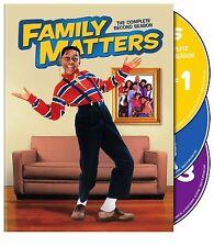 FAMILY MATTERS - COMPLETE SECOND SEASON 2 DVD 3 DISCS NEW/SEALED R4 STEVE URKEL