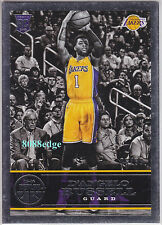 2015-16 PANINI REPLAY ROOKIE CARD #2: D'ANGELO RUSSELL #6/99 RC LAKERS/BUCKEYES