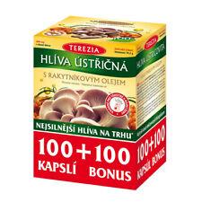 Oyster mushroom with sea buckthorn oil BIO 200 tablets 600 mg Vitamins Diet Bio
