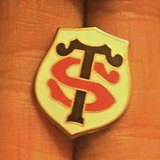 TOULOUSE  RUGBY UNION CREST ENAMEL PIN BADGE
