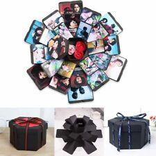 Surprise Explosion Box DIY Scrapbook Photo Album For Valentine Wedding Gift