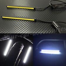 High Power LED COB 12V-24V 10cm Motorcycle Daytime Driving Light Xenon White UPS