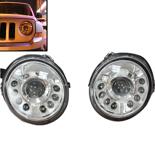 MIL Car Pair Left Right Projector HID Headlight Lamp For Jeep Patriot 2011-2016