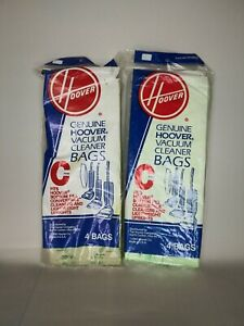 Hoover Vacuum Cleaner Bags Type C Replacement Upright Sweeper 7 Bags