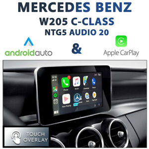 [Audio20] Mercedes Benz W205 C-Class Touch CarPlay & Android Auto Integration