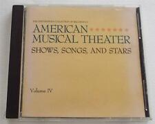 Smithsonian Collection of American Musical Theater Vol 4 Shows Songs & Stars  CD
