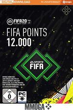 FIFA 20 - 12000 FUT Points - EA Origin Code - 12,000 Nur für PC Version Key