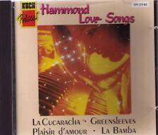 Hammond Love canzoni | CD-album 12 tracks