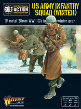 US Army Infantry Squad in Winter Clothes Bolt Action Warlord Games 28mm