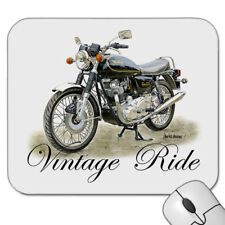 VINTAGE  NORTON COMMANDO   850cc      MOTOR  BIKE    MOUSE PAD