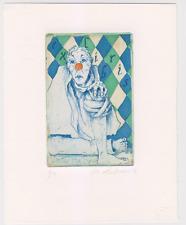 Exlibris from Eva Aulmann - Ansichten eines Clowns Heinrich Böll