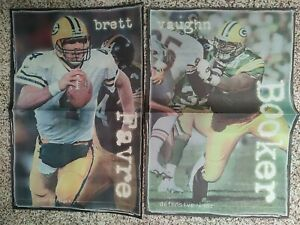 """1999 Green Bay Packers Player Newspaper photos 12' x 18"""". 13 Different."""