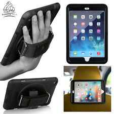 NEW HEAVY DUTY SHOCK PROOF CASE ADJUSTABLE HAND STRAP STAND COVER FOR APPLE IPAD