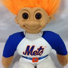 "Russ 12"" Plush Troll Doll Mets Uniform Official License Major League Baseball"