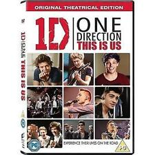 ONE DIRECTION 1D THIS IS US THEATRICAL EDITION SONY UK 2013 REGION2 DVD & UV NEW