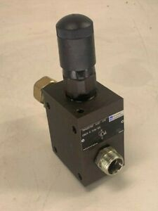 Rexroth DBDS 8 G18/100 Hydraulic Pressure Relief Valve, Used, SHIPS SAME DAY