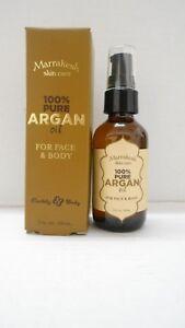 MARRAKESH SKIN CARE 100% Argan Oil For Face and Body ~ 2 fl. oz. /60 ml