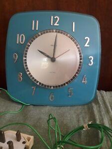 Vintage Smiths Mains Powered Kitchen Clock