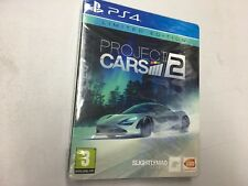PROJECT CARS  2 LIMITED  EDITION PS4  NUOVO SIGILLATO