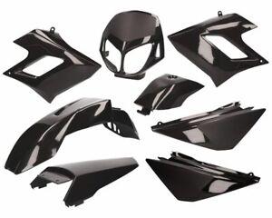 Verkleidungskit schwarz für Derbi Senda DRD Racing -2010