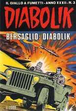 fumetto DIABOLIK ANNO XXXII numero 3