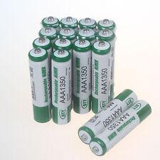 Set 16 x AAA NiMH Akku 1350 mAh Batterie ,Wiederaufladbar ,Für RC Spielzeug