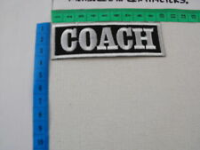 A New - Embroidered Sew/Iron-on Patch/Badge for the Sports/Athletic etc. COACH