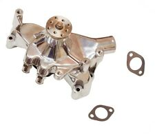 High Volume CHROME Long Water Pump For SBC Chevy 350 383 Small Block
