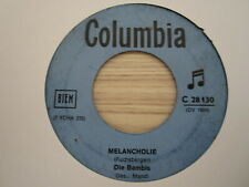 Single /  Die Bambis – Melancholie   / AUT   PRESS /  RAR /