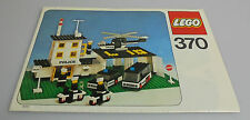 LEGO® Bauanleitung 370 Polizei Sation Alt Vintage Police