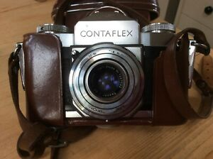 Zeiss Ikon Contaflex Vintage 35mm Film Camera Tessar 1:28 lens