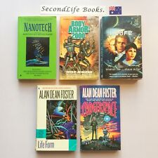 x5 SPACE SCI FI Novels ~ Nanotech Body Armor Life Form. Book Lot.