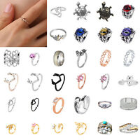 Fashion Popular Women Opening Adjustable Knuckle Ring Banquet Party Jewelry Gift