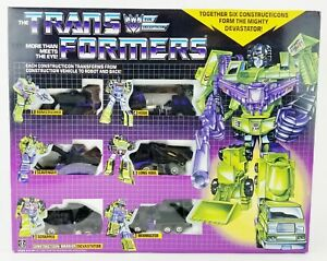 Transformers Evil Decepticon Constructicon Warrior Devastator 6 Figure Set