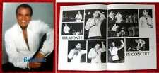 Tourprogramm Harry Belafonte - Concert 1981