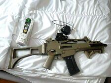 Airsoft g36c électrique s&t armament couleur sable