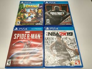4 Game PS4 Lot (Sony Playstation 4)